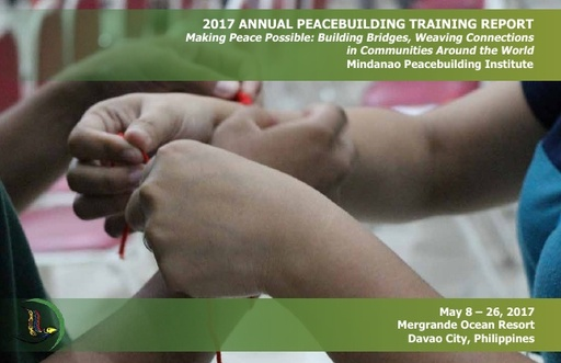 MPI 2017 Annual Peacebuilding Training Report