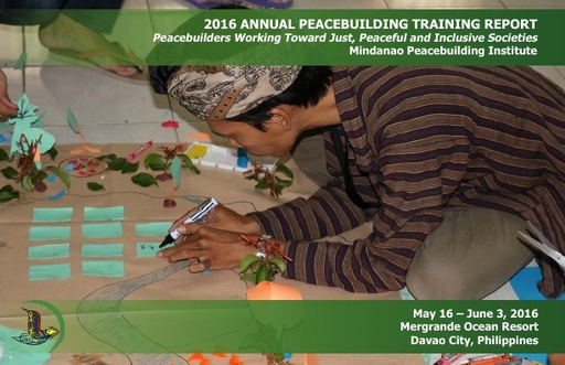 MPI 2016 Annual Peacebuilding Training Report