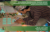 MPI 2016 Annual Training Report Cover
