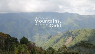 Memories of Mountains, Memories of Gold - with mountains in the background