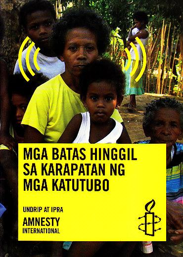 BookLibrary Manager | | Indigenous Peoples | Mga Batas