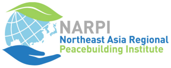 NARPI Logo: globe held in hand under a leaf