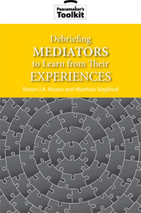 Debriefing Mediators to Learn from Their Experiences