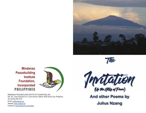 The Invitation (Up the Hills of Peace) by Julius Nzang booklet