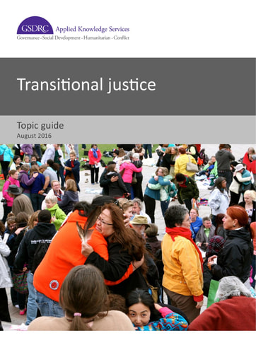 Transitional Justice Topic Guide