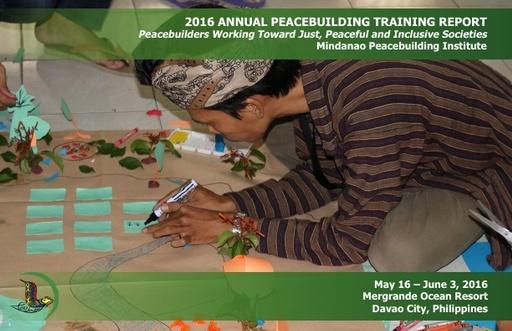 MPI 2016 Annual Peacebuilding Training Report